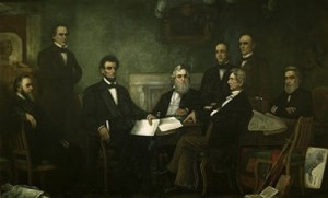 """Lincoln's Cabinet was filled with contention and intrigue - but made decisions that would have been impossible with a """"Team of Yes Men"""""""