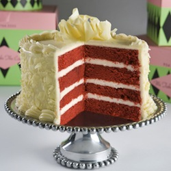 A novice baker will not be able to turn out this Red Velvet Wonder without a good recipe and some diligent follow-through.