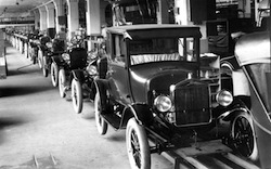 Henry Ford's assembly line was incredibly ionnovative at the time... then it wasn't.