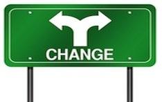 change green sign
