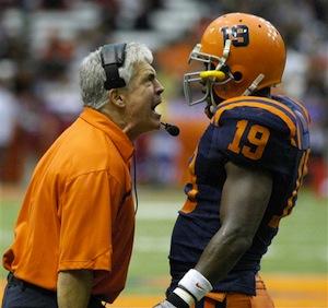 Syracuse Football Coach Greg Robinson