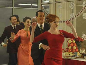 madmen office party