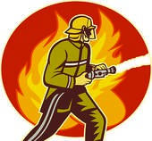 putting out fires