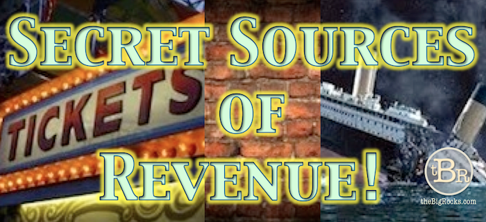theBigRocks Secret Sources of Revenue Banner