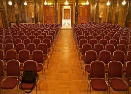 public speaking empty chairs
