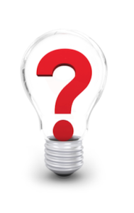 Question in a Light Bulb theBigRocks