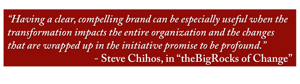 theBigRocks Quote on the Importance of Branding